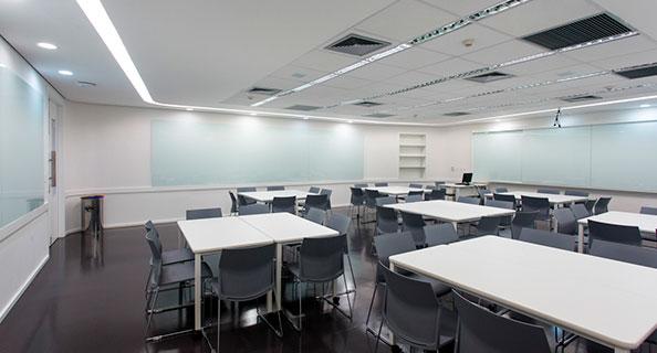 Salas de Trabalho em Grupo
