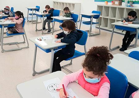 Ambiente escolar com protocolos corretos não aumenta o risco de contágio pela COVID-19